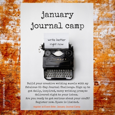 January Journal Camp (virutal)writer's workshop